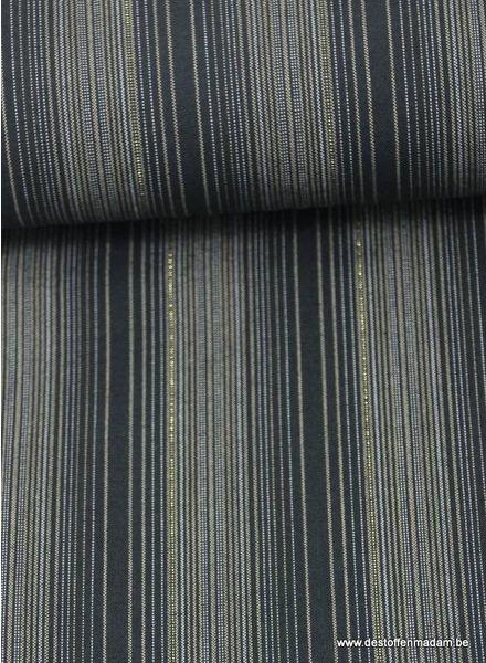 dyed stripe shimmer on - katoen