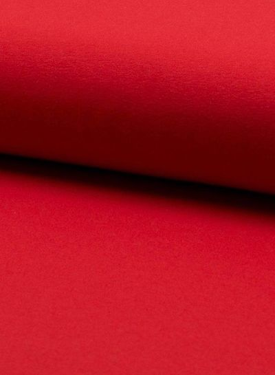 effen tricot rood