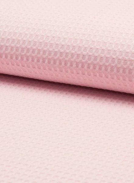 M pink- waffle cotton