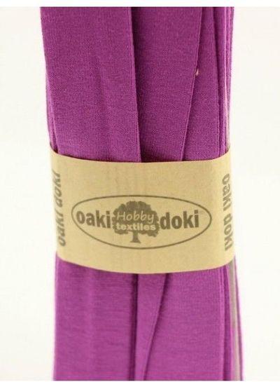 paars tricot biais 3meter