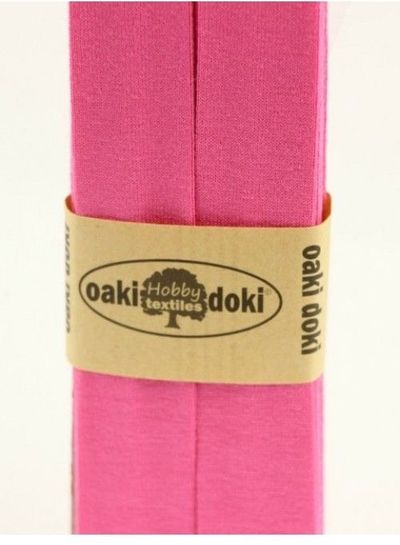 candy pink - biais jersey 3 meter