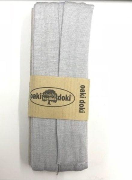 light grey -  biais jersey 3 meter