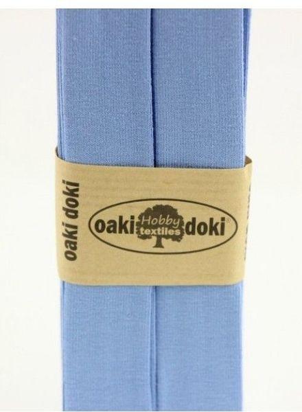 lichtblauw - tricot biais 3 meter