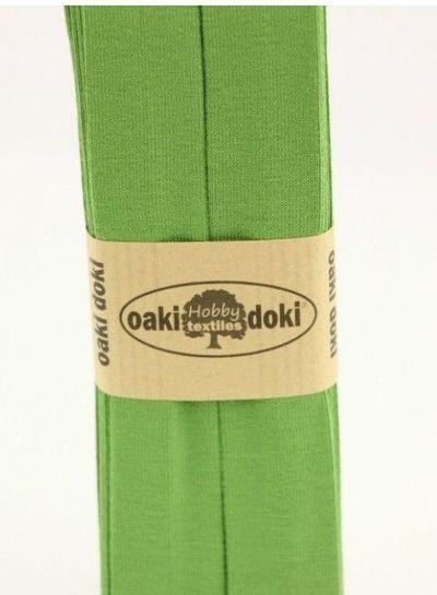 heldergroen - tricot biais 3 meter