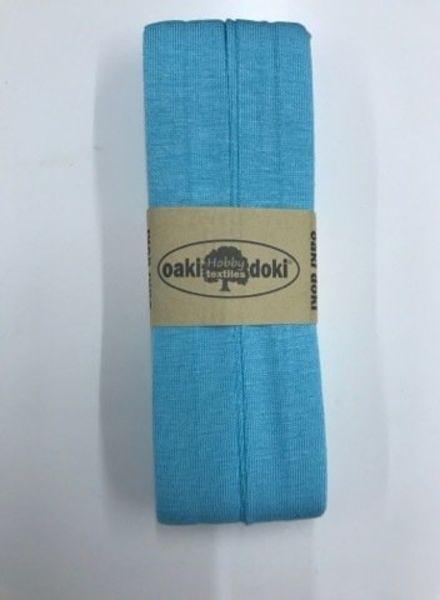 mint blue - jersey biais 3 meter