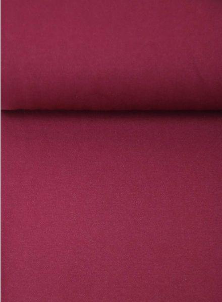 burgundy - jeans jersey