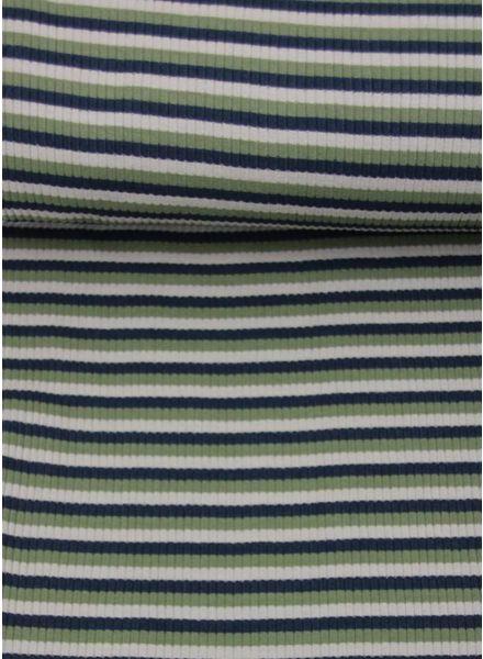 gestreepte gebreide structuur tricot