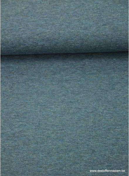 denimblauwe dunne sweaterstof
