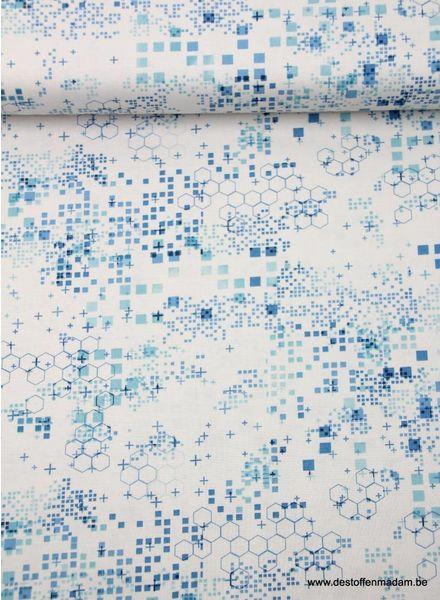 blue items - cotton