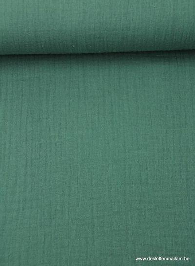 donkergroene tetra – double gauze