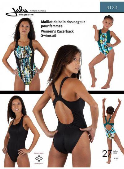 Jalie 3134  zwempak patroon - racerback