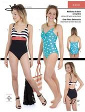 Jalie 3350 zwempak patroon - één stuk