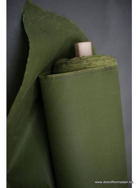 Merchant & Mills dry oilskin – grass green
