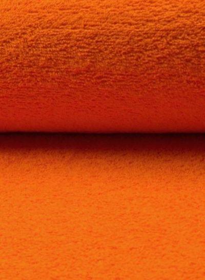 orange terry fabric