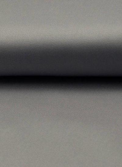 silver grey cotton satin spandex