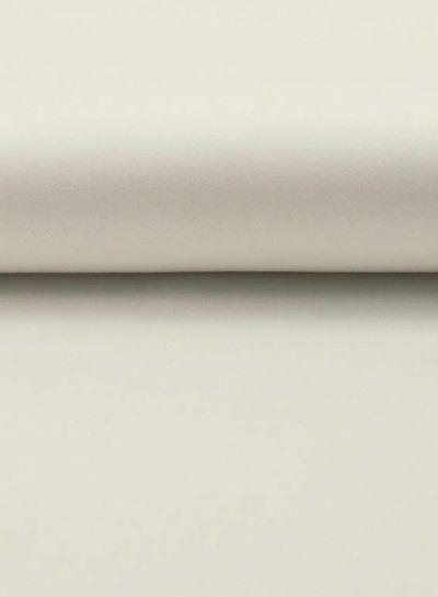 witte satijn - stretch katoen