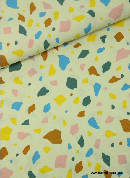 colored spots - deco fabrics