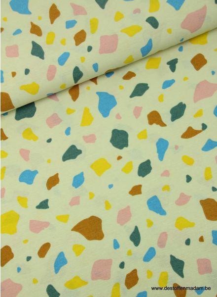 gekleurde vlekjes - deco stof