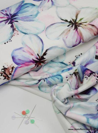 spring flowers - velvet