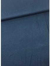 jeansblauw - italiaanse viscose tricot