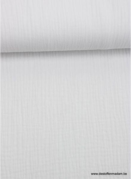 white tetra - double gauze