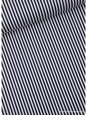 stripes navy - pique