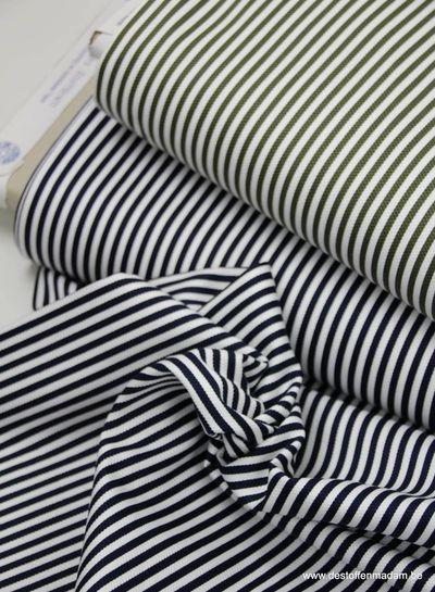 stripes khaki - pique