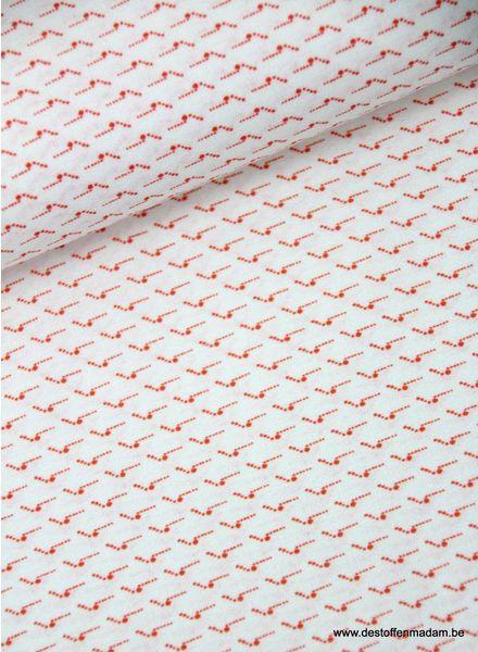 LMV red dots - cotton voile