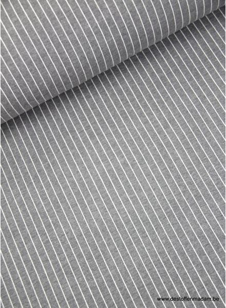 vertical stripes - modal french terry