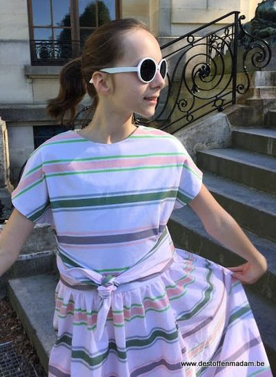 Blanche STRIPES cotton