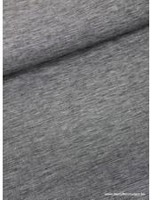 Italiaans geweven antraciet - gewassen  linnen mix