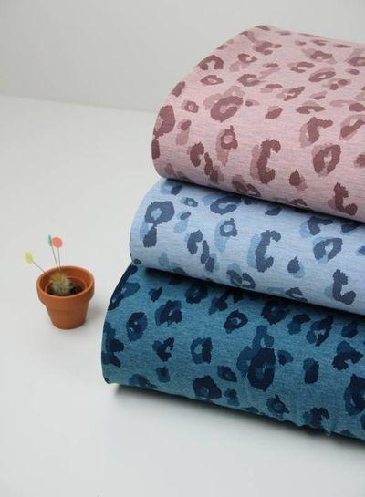 vlekjes roze - tricot