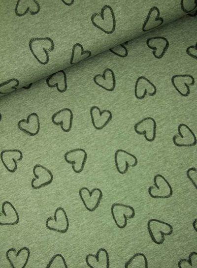 hearts khaki - jersey