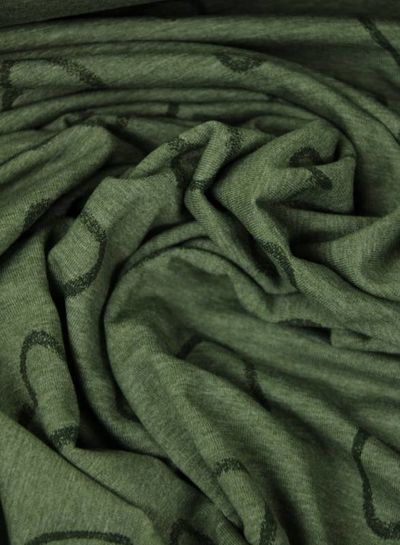 hartjes khaki - tricot