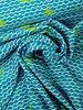 walvissen turquoise - badpakkenstof