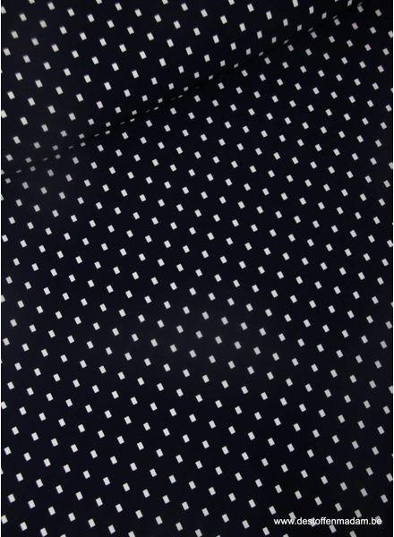 squares - Italien stretch fabric