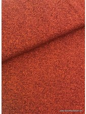 oranje gespikkeld - tricot