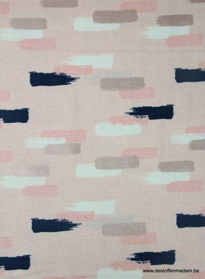 blush pink - cotton