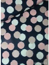blush puffs blue - cotton