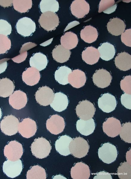 blush puffs blue - cotton