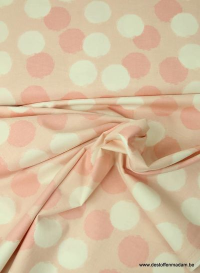 pink blush puffs  - cotton