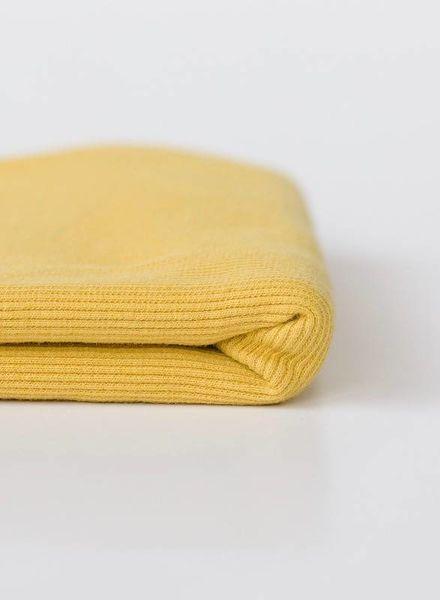 See You at Six Ribbing - Sulphur Yellow