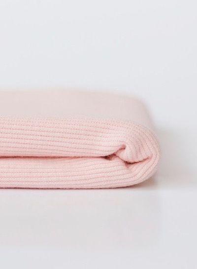 Ribbing - Veiled Pink