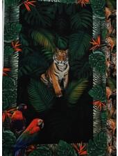 paneel tijger - tricot 1 meter hoog