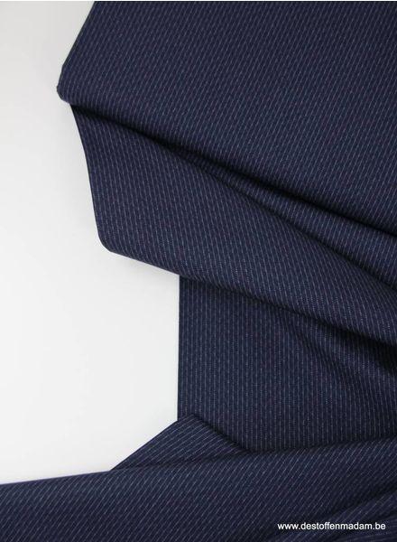 florian navy stripe -  cotton