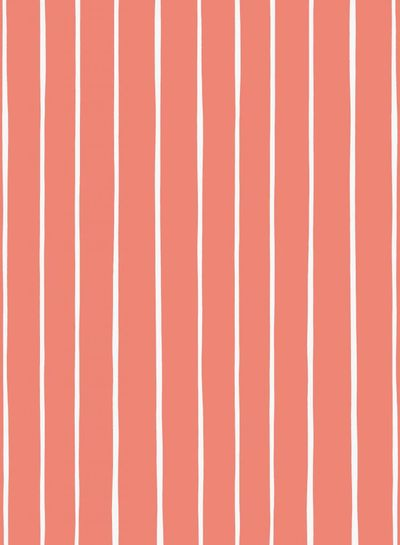 coral lines Eva Mouton - french terry