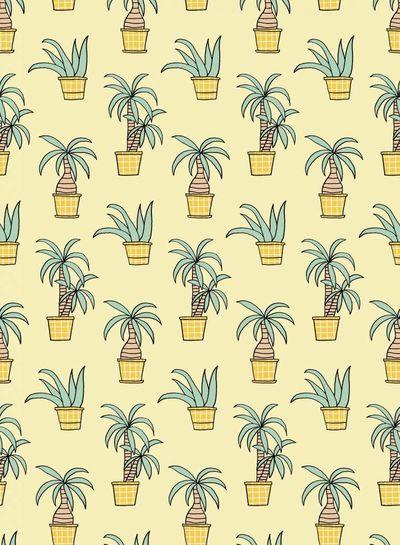 plants Eva Mouton - french terry
