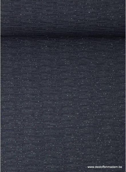 paarse gebreide tricot met lurex
