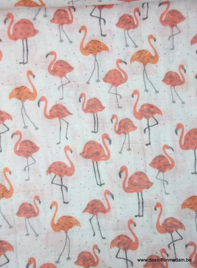 flamingo - tetra stof