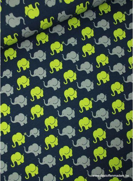 olifanten groen - tricot